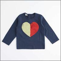 IDO t-shirt con paillettes reversibili 4k605 bambina IDO