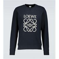LOEWE felpa anagram in cotone
