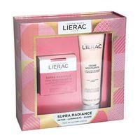 lierac (ales groupe it. spa) lierac cofanetto supra radiance crema 50ml + mousse struccante 150ml