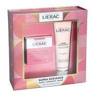 lierac (ales groupe it. spa) lierac cofanetto supra radiance gel-crema 50ml + mousse struccante 150ml