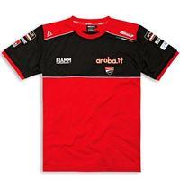 DUCATI - t-shirt moto DUCATI superbike team replica 20 rosso/nero