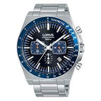 Lorus orologio cronografo quarzo uomo con cinturino in acciaio inox rt347gx9