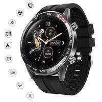 BEYI smartwatch t23 orologio intelligente uomo con cardiofrequenzimetro monitoraggio della pressione sanguigna nel sonno orologio, fitness sports modes activity tracker compatibile con ios android
