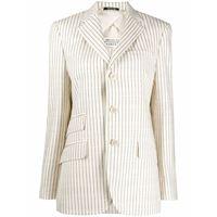 MAISON MARGIELA blazer donna s51bn0372s52599101j lana beige