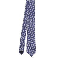 EMPORIO ARMANI cravatta uomo 3400750p32721033 seta blu