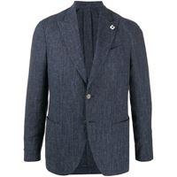 Lardini blazer monopetto - blu