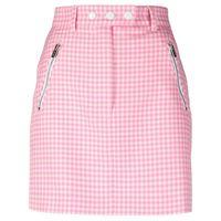 Miu Miu minigonna a quadretti - rosa