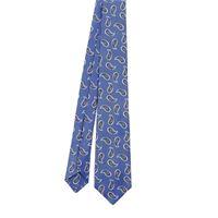 KITON cravatta uomo 3g6901 seta blu
