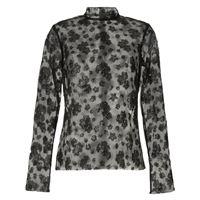 Macgraw blusa majestic con decorazione - nero