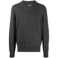 Maison Margiela maglione a girocollo - grigio