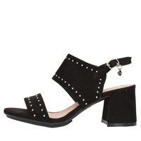 Xti Tentations sandali con tacco donna nero