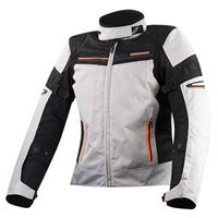 Ls2 giacca shadow xxxl light grey / black / orange