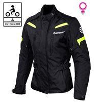 BEFAST giacca moto donna befast pro rider lady ce certificata nero giallo