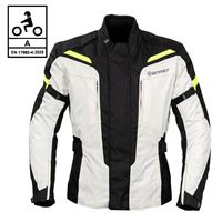 BEFAST giacca moto befast pro rider ce certificata nero grigio