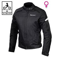 BEFAST giacca moto donna befast street lady ce certificata nero