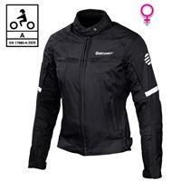BEFAST giacca moto donna touring befast alltime lady ce certificata 3 strati nero