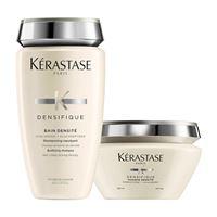 Kerastase duo densifique shampoo + maschera ridensificante capelli