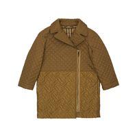 BURBERRY cappotto in nylon trapuntato con logo