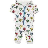STELLA MCCARTNEY KIDS felpa e pantaloni in cotone organico