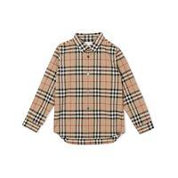 BURBERRY camicia ragazzo 8014134 cotone beige