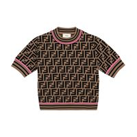 Fendi Kids t-shirt a stampa ff