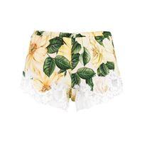 Dolce & Gabbana shorts con stampa - toni neutri