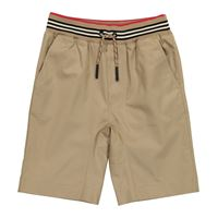 Burberry Kids shorts in cotone