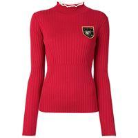 BAPY BY *A BATHING APE® maglione con ricamo - rosso