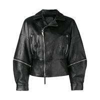 Giuseppe Zanotti giacca biker autumn - nero