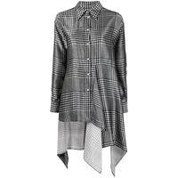 MM6 Maison Margiela camicia in principe di galles - grigio