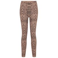 Alaïa leggings in jacquard leopardato
