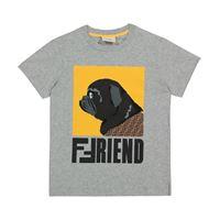 Fendi Kids t-shirt a stampa in cotone