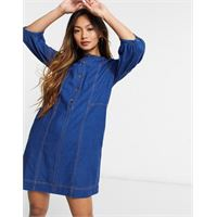 Whistles - alria - vestito di jeans-blu