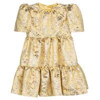 Dolce & Gabbana Kids abito in broccato floreale