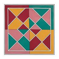 Loro Piana foulard taumascopio a stampa in seta