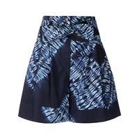 P.A.R.O.S.H. shorts con stampa - blu
