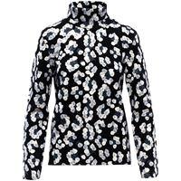 Aztech Mountain maglione con stampa matterhorn - nero