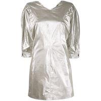 ISABEL MARANT vestito donna ro165220p029i08si cotone argento