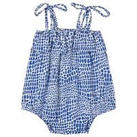 Bakker Made With Love - betty tutina blu - bambina - 3 mesi - blu