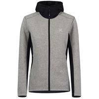Montura tre cime wool hoody jacket women fleece pile tecnico donna