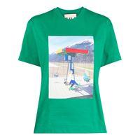 Plan C t-shirt swings - verde