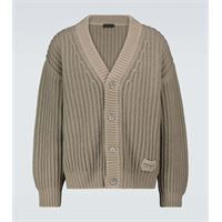 Prada cardigan in lana e cashmere