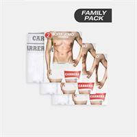 Carrera boxer bipack basic family pack