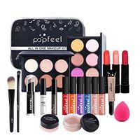 CHSEEO kit per il trucco completo, trousse di trucchi set di trucchi palette di ombretti make up cosmetics tavolozza trucco occhi kit per trucco valigetta per cosmetici - idea regalo #7
