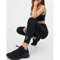 Lorna Jane curve - leggings modellanti alla caviglia neri-nero