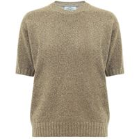 Prada pullover in maglia lamã©