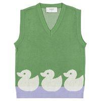 paade mode gilet duck in maglia di cotone