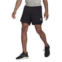 Adidas p. Blue short m pantaloncini running uomoo