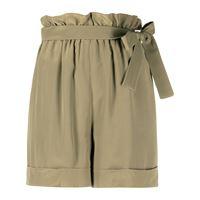 Federica Tosi shorts con cintura - verde