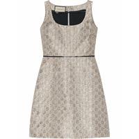 GUCCI vestito donna 622982zad0i1164 cotone argento